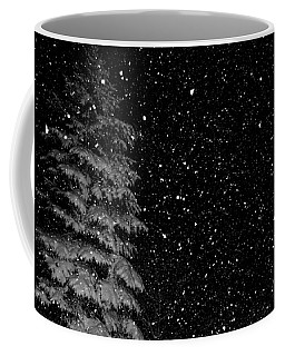 Coffee Mug featuring the photograph First Snow by Denise Beverly