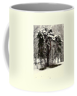 First Snow Coffee Mug by Henryk Gorecki