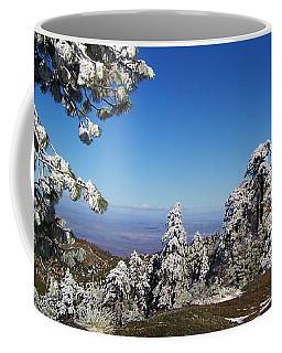 First Snow Of The Season Coffee Mug