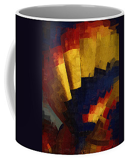 Coffee Mug featuring the digital art First Up by Kirt Tisdale