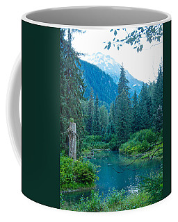 Fish Creek In Tongass National Forest By Hyder-ak  Coffee Mug