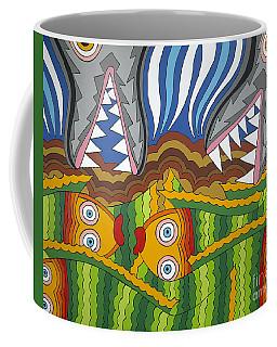Fish Dinner Coffee Mug