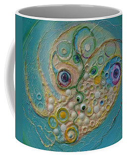 Fried Egg Head Over Queasy Coffee Mug