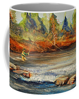 Fish On 2 Coffee Mug by Jani Freimann