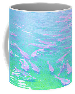 Coffee Mug featuring the photograph Fish by Rachel Mirror