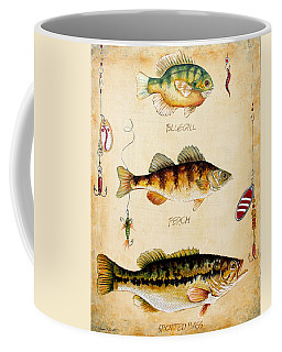 Fish Trio-c Coffee Mug by Jean Plout