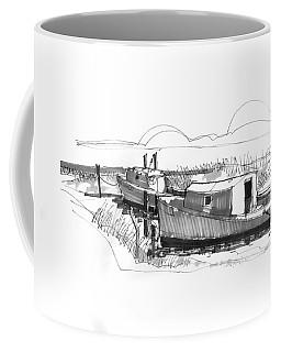 Fishers At Rest Ocracoke Nc 1970s Coffee Mug