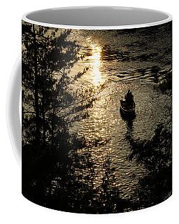 Fishing At Sunset - Thousand Islands Saint Lawrence River Coffee Mug