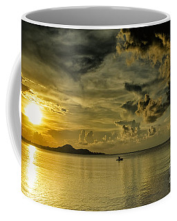 Fishing Before Dark Coffee Mug