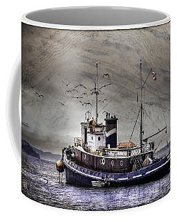 Fishing Boat Coffee Mug by Peter v Quenter