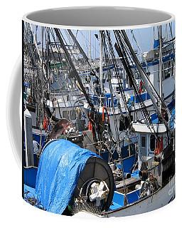 Fishing Boats In Monterey Harbor Coffee Mug