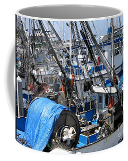 Fishing Boats In Monterey Harbor Coffee Mug