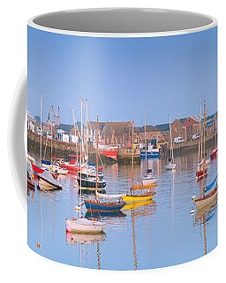 Fishing Boats In The Howth Marina Coffee Mug