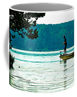 Fishing Crab Orchard Lake Coffee Mug