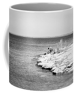 Coffee Mug featuring the photograph Fishing by Erika Weber