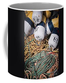Fishing Floats And Rope Coffee Mug