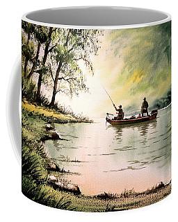 Fishing For Bass - Greenbrier River Coffee Mug