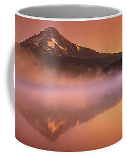 Fishing In The Fog Coffee Mug