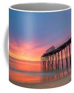 Fishing Pier Sunrise Coffee Mug by Michael Ver Sprill