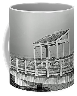 Coffee Mug featuring the photograph Fishing Pier by Tikvah's Hope