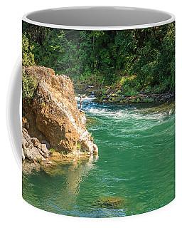 Fishing The River Coffee Mug