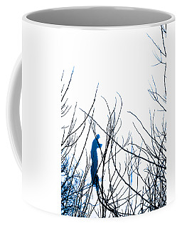 Coffee Mug featuring the photograph Fishing The River Blue by Robyn King