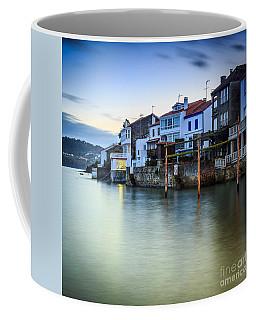 Fishing Town Of Redes Galicia Spain Coffee Mug by Pablo Avanzini