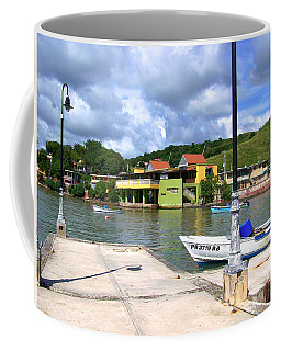 Fishing Village Puerto Rico Coffee Mug