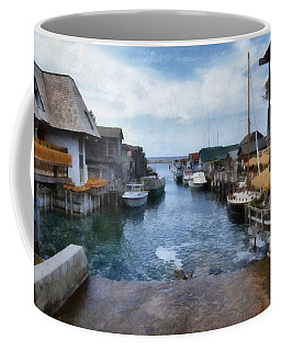 Fishtown Leland Michigan Coffee Mug