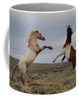 Fist Fight  Coffee Mug
