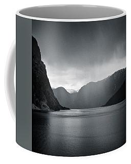 Fjord Rain Coffee Mug