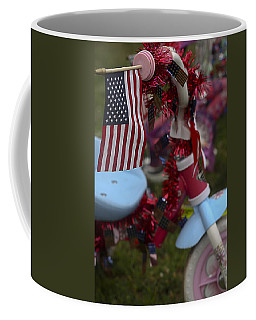 Flag Bike Coffee Mug by Patrice Zinck