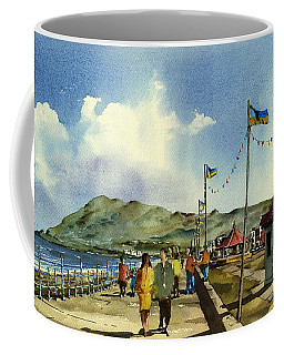 As I Walk Along The Promenade With An Independant Air  ....... Coffee Mug