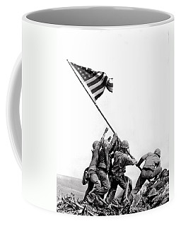 Flag Raising At Iwo Jima Coffee Mug