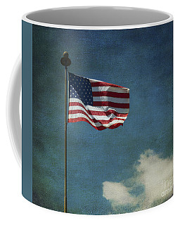 Flag - Still Standing Proud - Luther Fine Art Coffee Mug