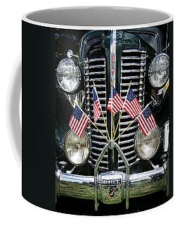 Flagged Buick Straight 8 Coffee Mug