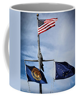 Flags Coffee Mug by Andrew Matwijec