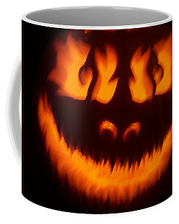 Flame Pumpkin Coffee Mug
