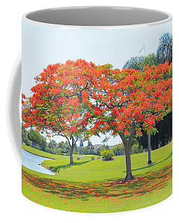 Flame Tree Coffee Mug