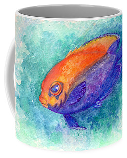 Flameback Angelfish Coffee Mug