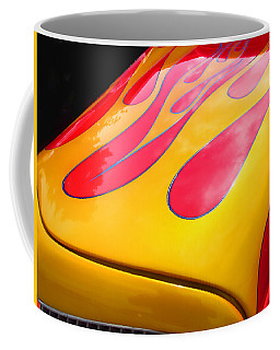 Flamed Paint Job Coffee Mug