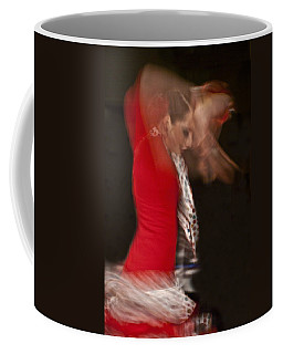 Coffee Mug featuring the photograph Flamenco Series 3 by Catherine Sobredo