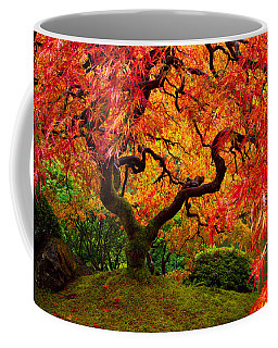 Flaming Maple Coffee Mug