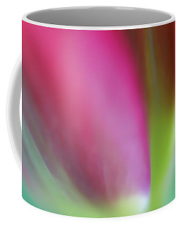 Coffee Mug featuring the photograph Flaming Tulip by Annie Snel
