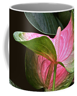 Flamingo Flower Coffee Mug