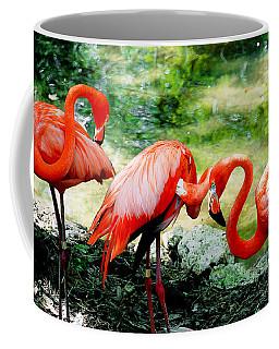Flamingo Friends Coffee Mug