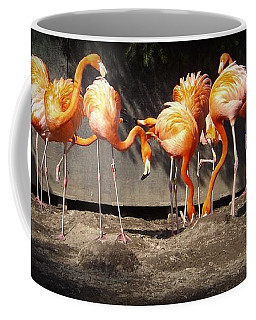 Flamingo Hangout Coffee Mug