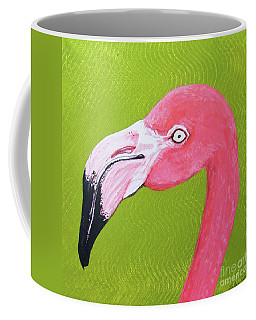 Flamingo Head Coffee Mug