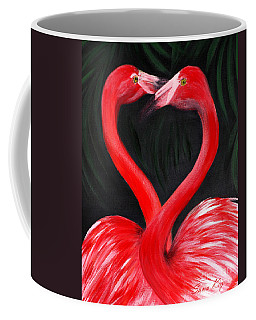 Love  Is... Flamingo Love. Inspirations Collection Coffee Mug