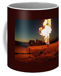 Flare And A Vacuum Truck Coffee Mug